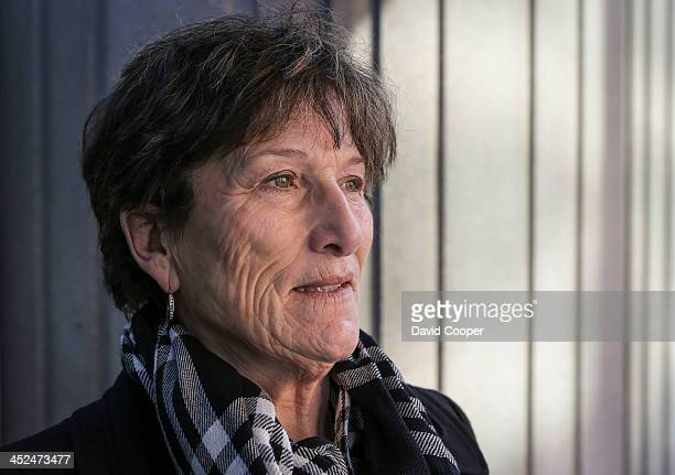 Coralee Smith mother of Ashley Smith outside Coroner's Court on Grosvenor Street in Toronto November 28 2013 Speaking after final submissions wrapped...