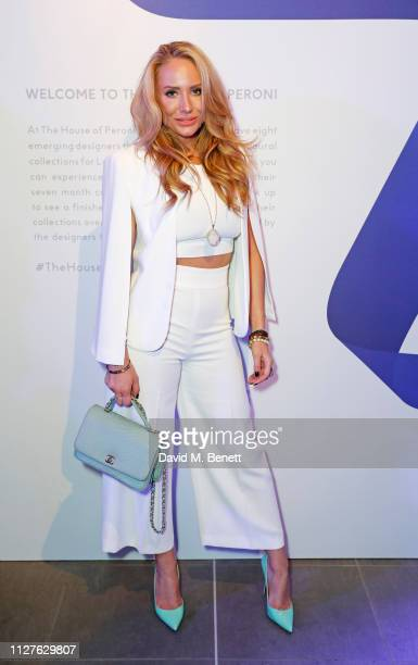 Coralie Jo attends the launch of The House Of Peroni on February 26 2019 in London England
