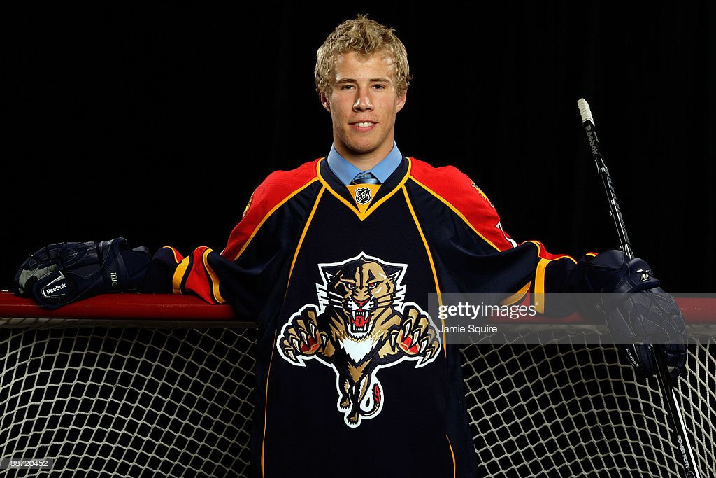 Corban Knight of the Florida Panthers poses for a portrait during the 2009 NHL Entry Draft at the Bell Centre on June 27, 2009 in Montreal, Quebec, Canada.