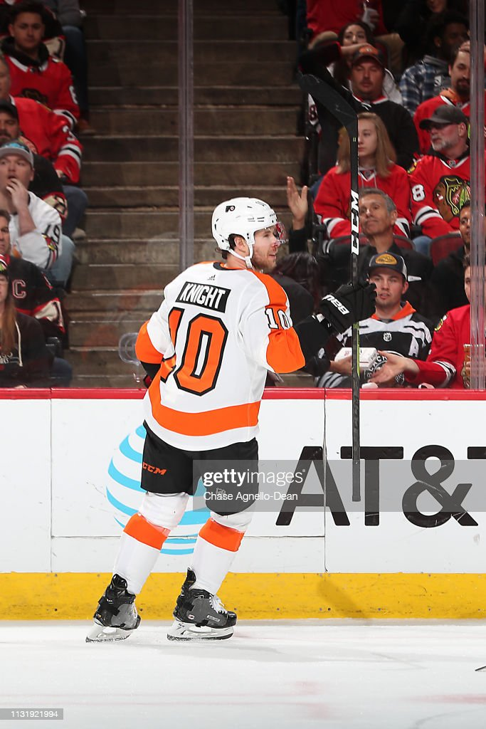 Philadelphia Flyers v Chicago Blackhawks : News Photo