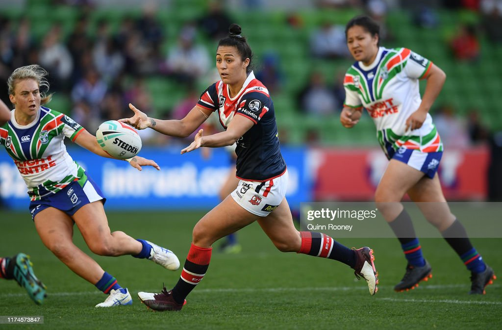 NRLW Rd 1 - Roosters v Warriors : News Photo