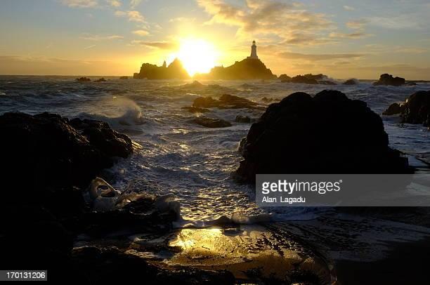 Corbiere lighthouse, Jersey.