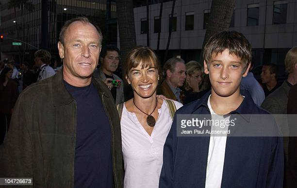 Corbin Bernsen Amanda Pays son Oliver during Slap HerShe's French Premiere AfterParty at Academy of Motion Picture Arts and Sciences in Beverly Hills...
