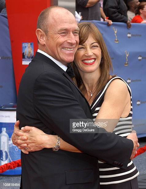 Corbin Bernsen and Amanda Pays during 33rd Annual Daytime Emmy Awards Arrivals at Kodak Theatre in Hollywood CA United States