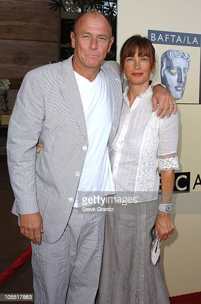 Corbin Bernsen and Amanda Pays during 3rd Annual BAFTA Tea Party Honoring Emmy Nominees at Park Hyatt in Century City California United States