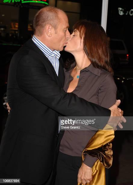 Corbin Bernsen and Amanda Pays during 9th Annual Hollywood Film Festival Opening Night Screening of Kiss Kiss Bang Bang Arrivals at Grauman's Chinese...