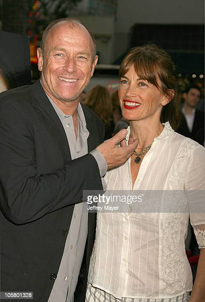 Corbin Bernsen and Amanda Pays during Silent Hill Los Angeles Premiere Arrivals at Egyptian Theatre in Hollywood California United States