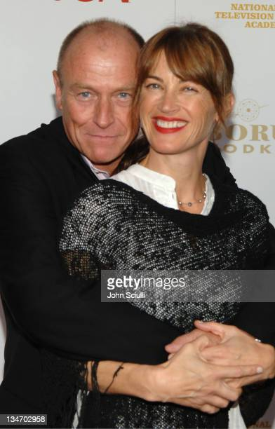 Corbin Bernsen and Amanda Pays during SOAPnet National TV Academy Annual Daytime Emmy Awards Nominee Party at The Hollywood Roosevelt Hotel in Los...