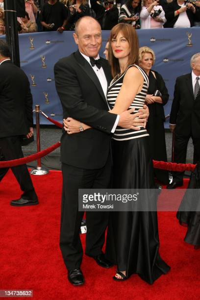 Corbin Bernsen and Amanda Pays during The 33rd Annual Daytime Emmy Awards Arrivals at Hollywood Kodak Theater in Hollywood California United States