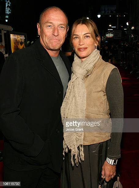 Corbin Bernsen and Amanda Pays during The Fountain Premiere Red Carpet at Grauman's Chinese Theatre in Hollywood California United States