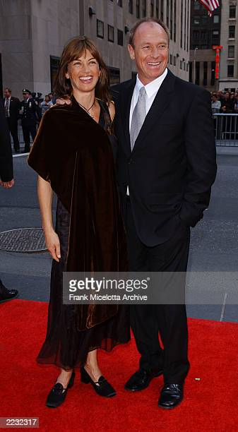 Corbin Bernsen and wife Amanda Pays arrive for the NBC 75th Anniversary celebration taking place live in Studio 8H in Rockefeller Center in New York...