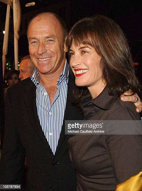 Corbin Bernsen and wife Amanda Pays during Warner Bros Pictures Presents Kiss Kiss Bang Bang Premiere Red Carpet at Grauman's Chinese Theater in Los...