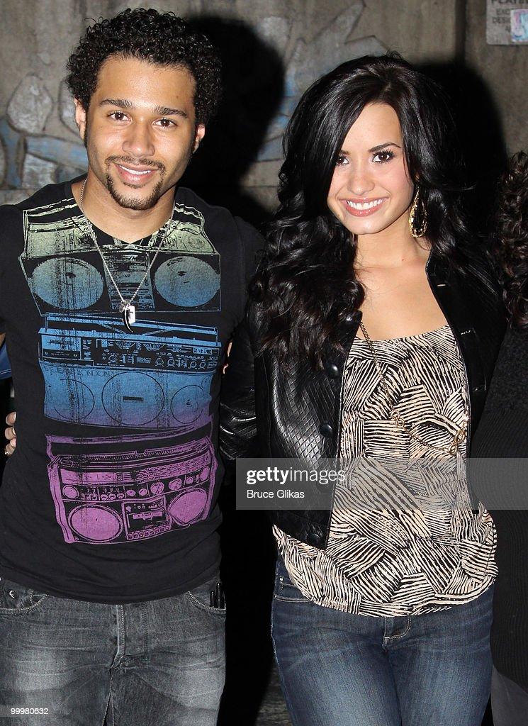 """Joe Jonas & Demi Lovato Visit """"In The Heights"""" On Broadway"""