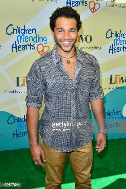 Corbin Bleu arrives at Children Mending Hearts' 6th Annual Fundraiser 'Empathy Rocks A Spring Into Summer Bash' on June 14 2014 in Beverly Hills...