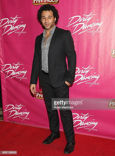 Corbin Bleu attends Opening Night Of 'Dirty Dancing The Classic Story On Stage' at the Pantages Theatre on February 2 2016 in Hollywood California