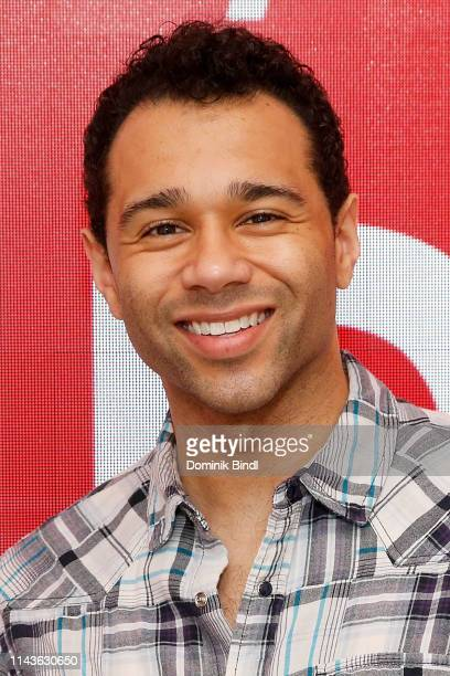 Corbin Bleu attends SAGAFTRA Conversations On Broadway 'Kiss Me Kate' at The Robin Williams Center on April 18 2019 in New York City