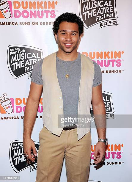 Corbin Bleu attends the 2012 New York Musical Theatre Festival Preview at The NYMF Hub on July 3 2012 in New York City