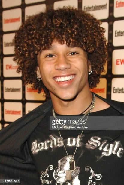 Corbin Bleu during Entertainment Weekly Magazine Celebrates The 2006 Photo Issue at Quixote Studio in Hollywood California United States