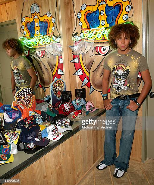 Corbin Bleu during Young Hollywood Rocks Ed Hardy Store May 2 2006 at Ed Hardy Store in Los Angeles California United States
