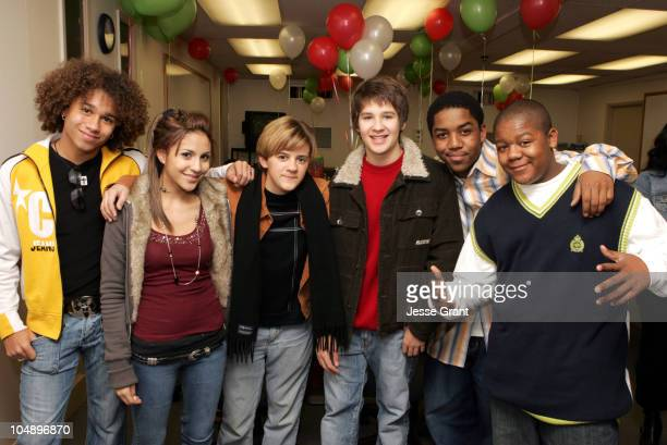 Corbin Bleu Kristin Herrera Rob Pinkston Devon Werkheiser Kyle Massey and Chris Massey