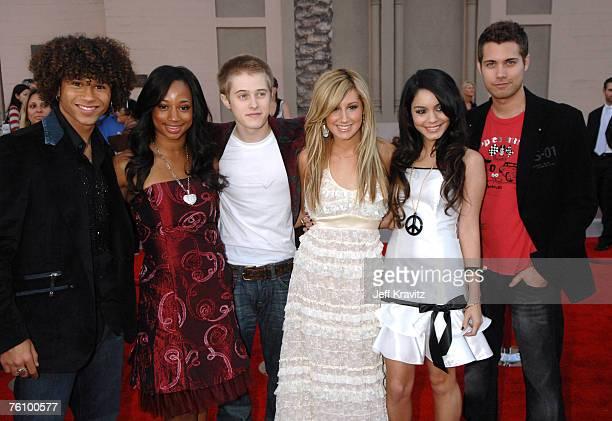 Corbin Bleu Monique Coleman Lucas Grabeel Ashley Tisdale Vanessa Anne Hudgens and Drew Seeley from High School Musical