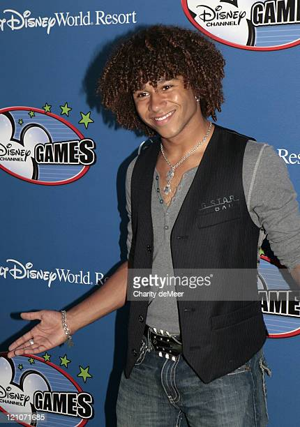 Corbin Bleu of High School Musical and Jump In during Disney Channel All Star Party 2007 in Orlando Florida United States