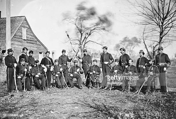 Corcoran Guard; Corcoran Zouaves; Seventh Regiment, Irish Legion; Third Regiment, Corcoran's Irish Brigade; Buffalo Irish Regiment.