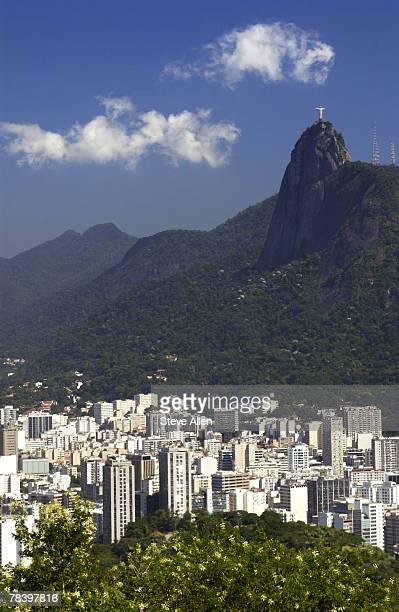 Corcovado overlooking Rio de Janeiro, Brazil
