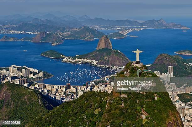 corcovado, rio de janeiro, brazil - rio de janeiro - fotografias e filmes do acervo