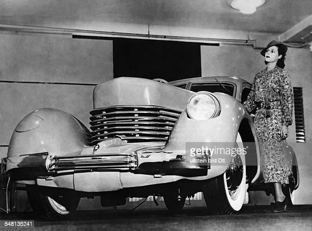 USA A Cord 810 luxury car 1936 Published by 'Koralle' 44 / 1936 Vintage property of ullstein bild
