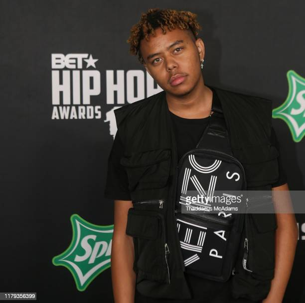 Cordae arrives to the 2019 BET Hip Hop Awards on October 05 2019 in Atlanta Georgia
