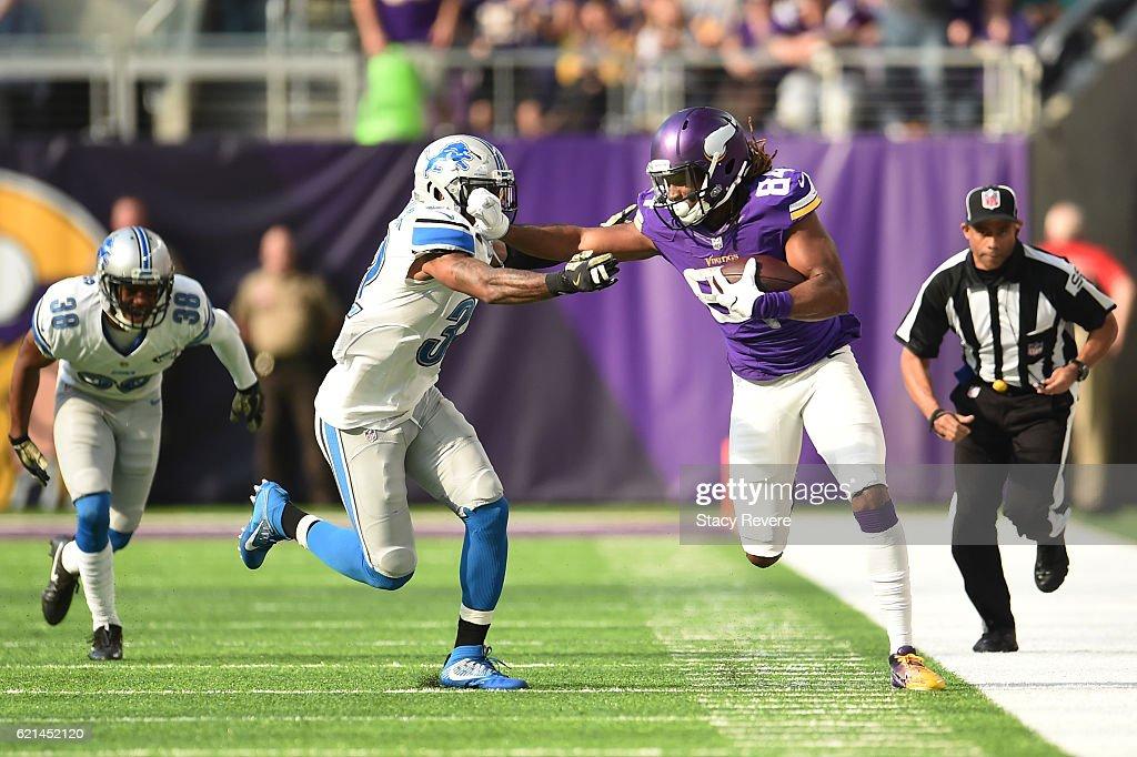 Detroit Lions v Minnesota Vikings : News Photo