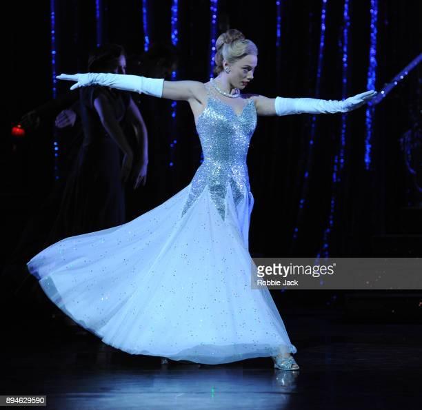 Cordelia Braithwaite as Cinderella in Matthew Bourne's Cinderella at Sadler's Wells Theatre on December 15 2017 in London England