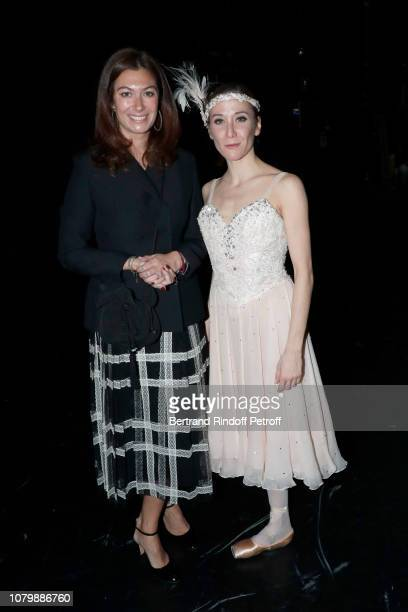 Cordelia de Noailles and Ludmilla Pagliero attend 'Cendrillon' choregraphing by Rudolf Noureev during 'Reve d'Enfant' Charity Gala at Opera Bastille...