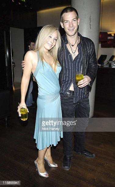 Cordelia Neville and Sean Brosnan during Drivin' Me Crazy – Gumball Film Premiere Inside Arrivals at The Savoy Place in London Great Britain
