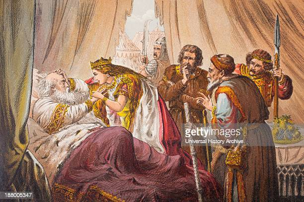 Cordelia Speaks In King Lear Act Iv Scene Vii By William Shakeseare Sir Do You Know Me Drawn And Etched By Robert Dudley From The Illustrated Library...