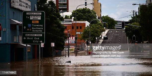 cordelia street - flooding stock photos and pictures
