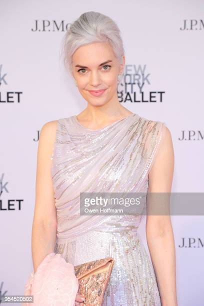Cordelia Zanger attends New York City Ballet 2018 Spring Gala at David H Koch Theater Lincoln Center on May 3 2018 in New York City