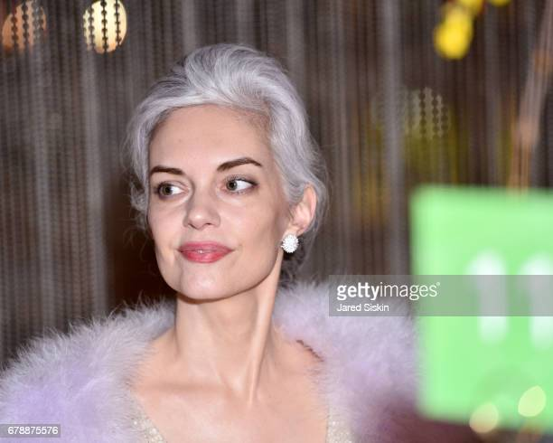 Cordelia Zanger attends the New York City Ballet 2017 Spring Gala at David H Koch Theater Lincoln Center on May 4 2017 in New York City
