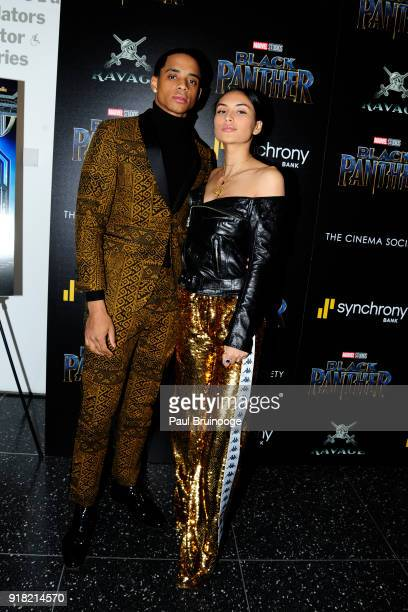 Cordell Broadus attends The Cinema Society with Ravage Wines Synchrony host a screening of Marvel Studios' 'Black Panther' at The Museum of Modern...