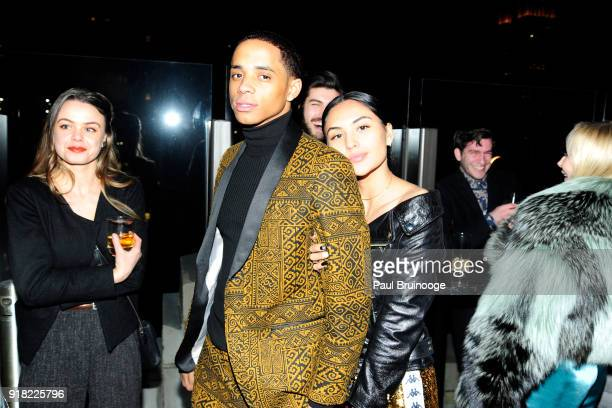 Cordell Broadus attends The Cinema Society with Ravage Wines Synchrony host the after party for Marvel Studios' 'Black Panther' at The Skylark on...