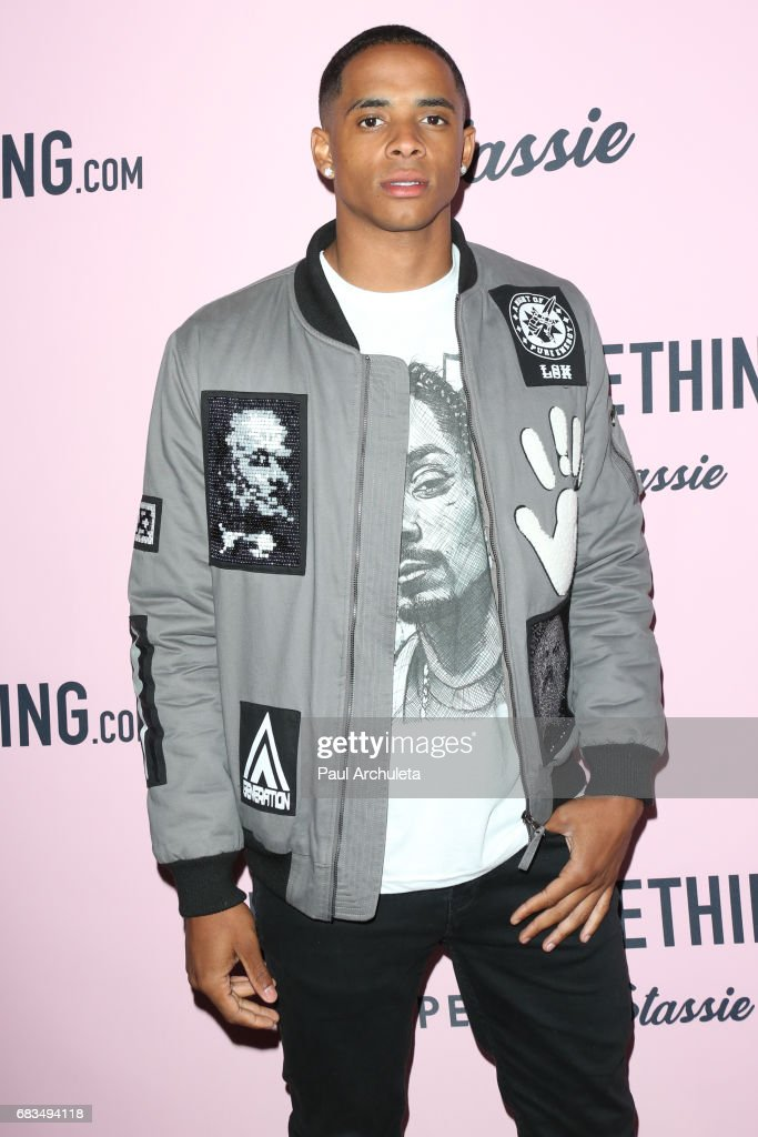 Cordell Broadus attends the 'PrettyLittleThing' campaign launch on April 11, 2017 in Los Angeles, California.