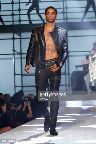Cordell Broadus walks the runway at the Philipp Plein fashion show during New York Fashion Week The Shows at Hammerstein Ballroom on September 9 2017...