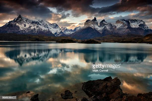 Cordillera del Paine from Lake Pehoe