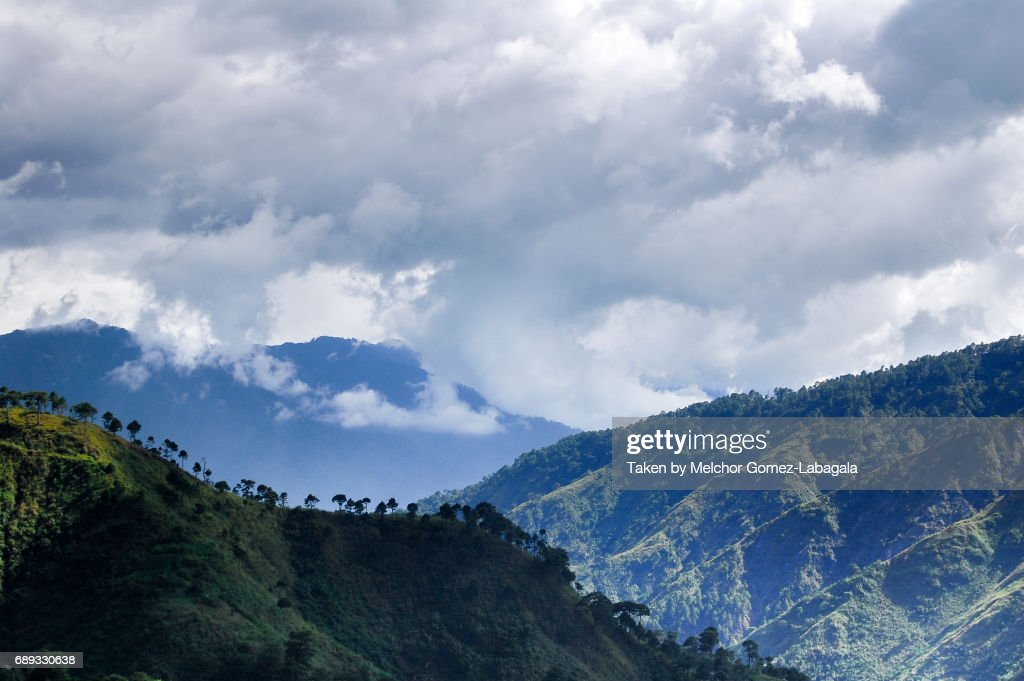 Cordillera Mountains : Stock Photo