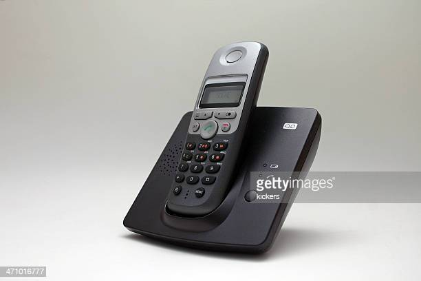 Cordless phone in docking station