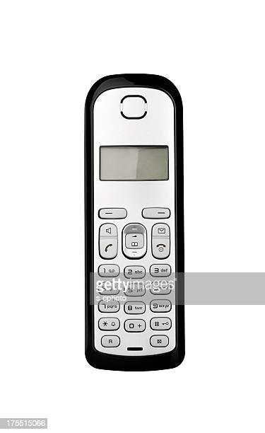 Schnurloses Telefon Clipping Path (Klicken Sie hier, um weitere Informationen)