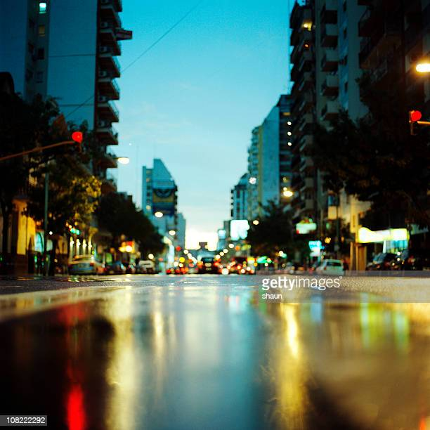 Cordoba Avenue at Sunset