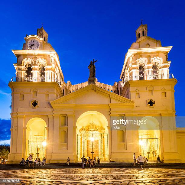 cordoba cathedral - cordoba argentina stock photos and pictures