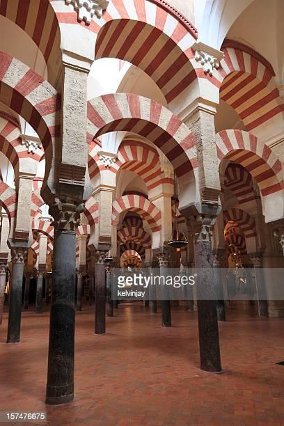 Cordoba Mezquita mosque pillars